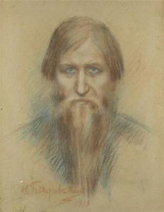 bodarevski_rasputin-retrato
