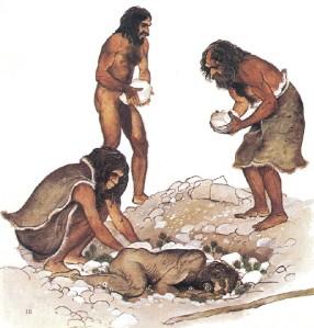 Desde la época prehistórica se enterraba a los muertos