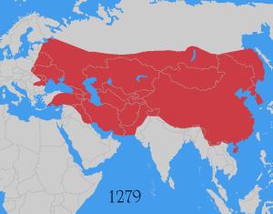 EL IMPERIO MONGOL OCUPÓ UNA GRAN PARTE DE ASIA Y LLEGÓ HASTA EUROPA