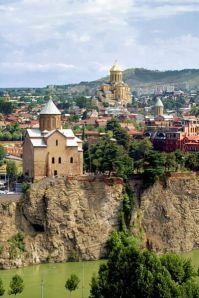 Paisaje de Tbilisi