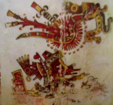 HISTORIA DE LOS MEXICANOS POR SUS PINTURAS, FRAGMENTO (1/5)