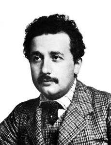 Albert Einstein cuando trabajaba en la Oficina de Patentes