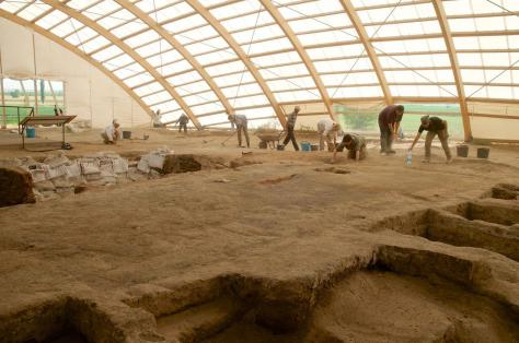 Excavacion arqueologica en ÇATAL HUYUC