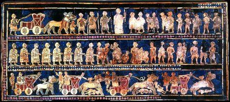 Estandart de Ur guerra III milenio aC