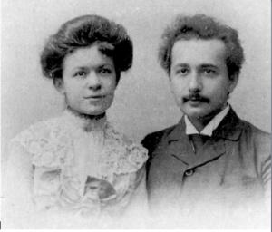 Mileva Maric y Alberto Einstein a finales de Siglo XIXl