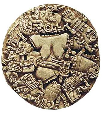 Coyolxauhqui diosa azteca de la Luna