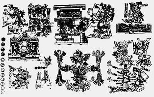 Cihuatlampa, el Oeste Códice Borgia figura 51