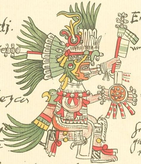 Huitzilopochtli Códice telleriano-Remensis