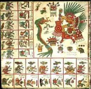 Quetzalcóatl Codice Borgia