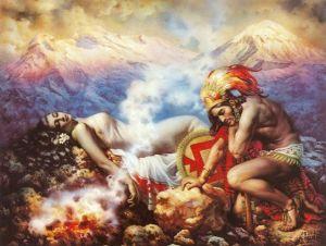 Popocatepetl e Iztaccihuatl calendario de