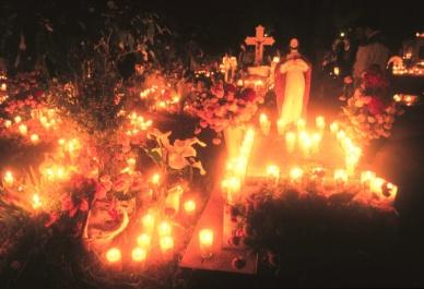 Ofrenda de Dia de Muertos Tzintzuntzan Michoacan Mexico Memo Garcia Navarro