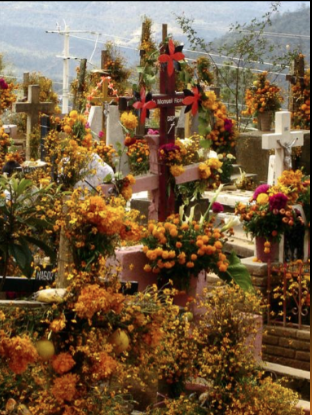 Dia de muertos en Ayutla Oaxaca panteon