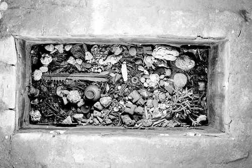 Ofrenda funeraria Templo Mayor de Tenochtitlan Mexico