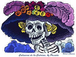 La Catrina Garbancera de Jose Guadalupe Posada