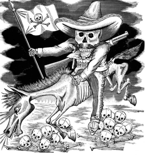 La muerte y la Revolucion Jose Guadalupe Posada