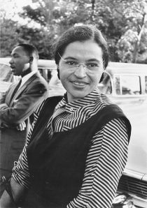 Rosaparks con Martin Luther King Jr