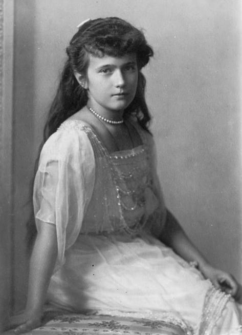 Duquesa Anastasia hija del zar de Rusia Nicolas II