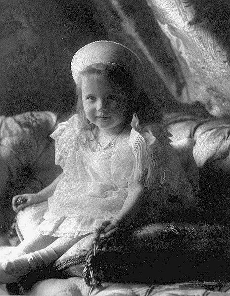 Gran Duquesa Anastasia de Rusia 1904