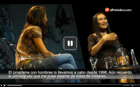 Ana Pastor y Somaly Mam