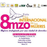 DÍA INTERNACIONAL DE LA MUJER 2014, CIUDAD DE MÉXICO