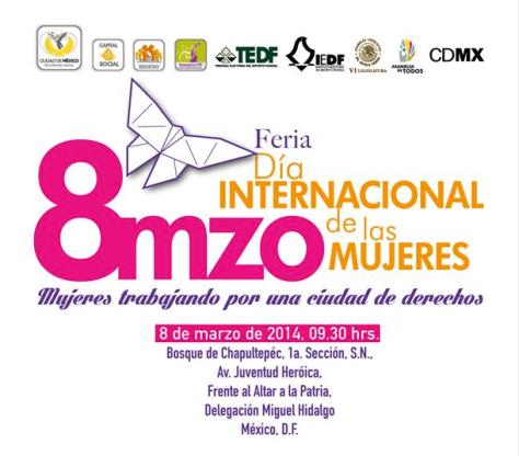Dia Internacional de la Mujer 2014 DF