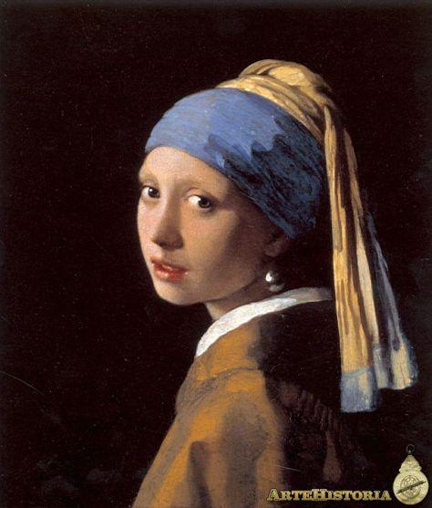 LA NIÑA CON EL ARETE DE PERLAS Vermeer