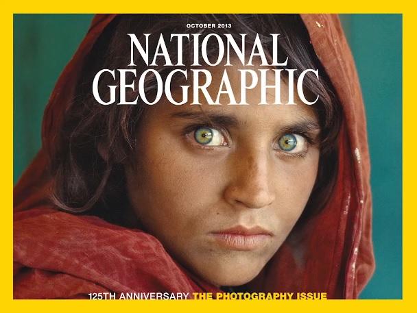 Niña afgana foto Steve McCurry NatGeo