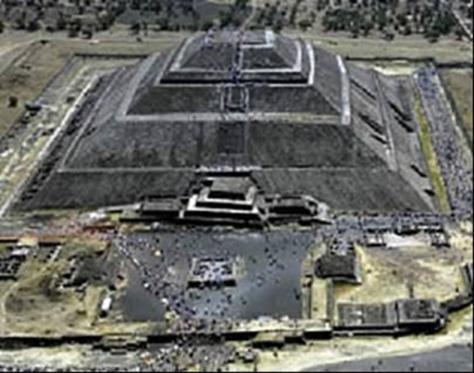 Piramide del Sol Teotihuacan Mexico