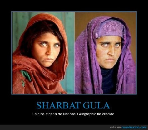 Sharbat_Gula National Geographic foto Steve McCurry