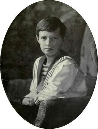 Tsarevich Alexei Nikolaievich Of Russia 1914