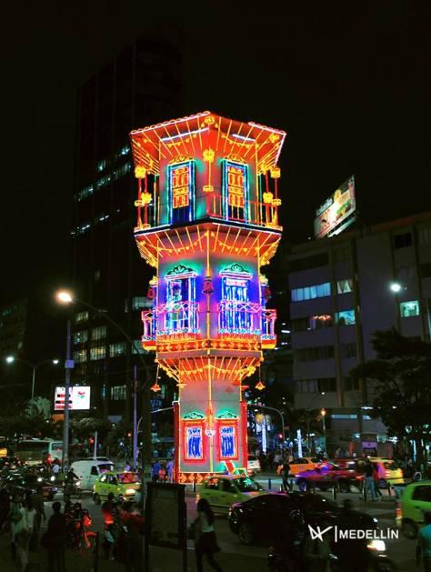 Alumbrado de Navidad Medellin Colombia 2