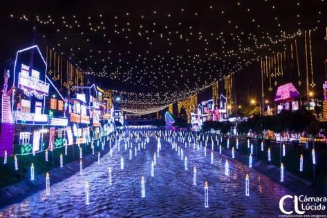 Alumbrado de Navidad Medellin Colombia 4