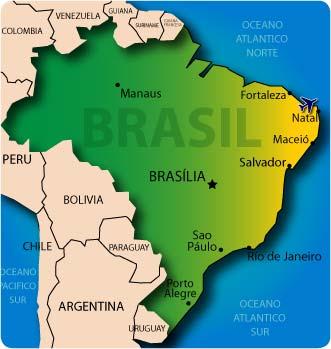 Fronteras de Brasil