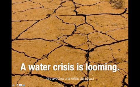 Nuestro planeta tiene sed 1