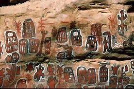 dogon pinturas rupestres nommos y Sirio