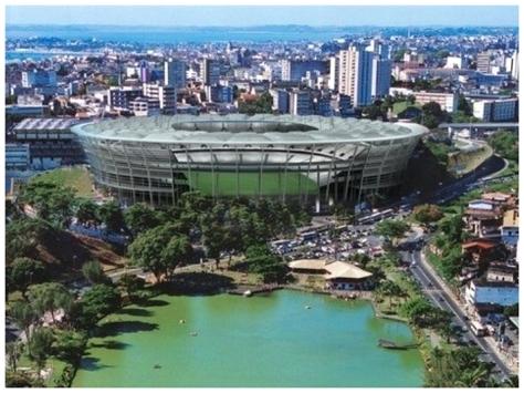 Estadio Fonte Nova Salvador de Bahia Brasil