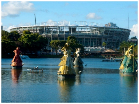 Estadio Fonte Nova renovado para 2014