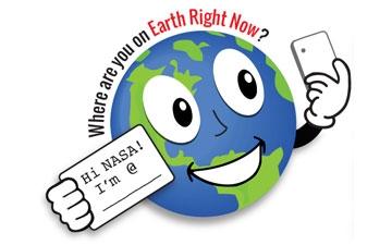NASA Celebra el Día de la Tierra con un #GlobalSelfie