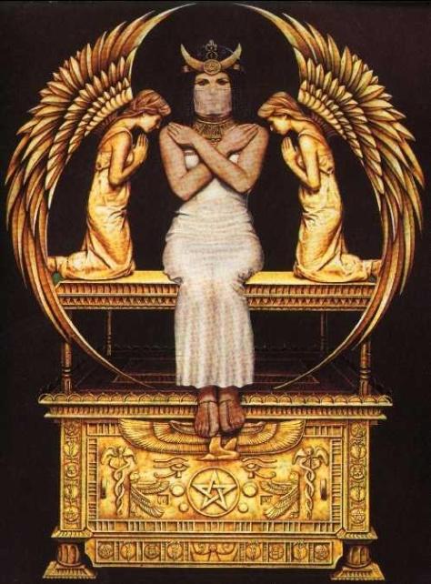 i Isis diosa de la maternidad, fertilidad, curación y magia la diosa mas importante del antiguo Egipto