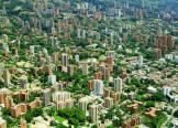 MEDELLIN COLOMBIA DESDE EL AIRE