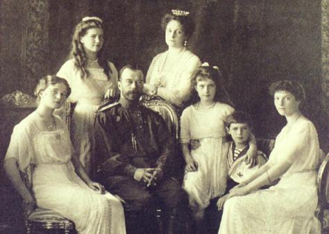Nicolas-II_Familia-Imperial de Rusia