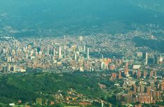 Panoramica de Medellin Colombia 1
