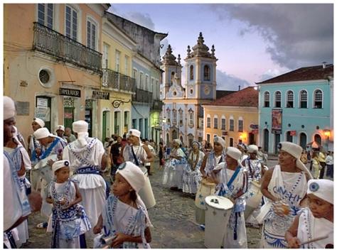Salvador de Bahia primera capital de Brasil en la Colonia