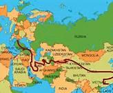 Mapa Ruta de la Seda China a Europa
