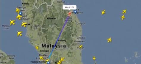 Vuelo 370 Malasya Airlines