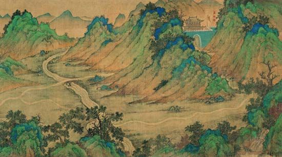 Early Silk road map from the Ming Dynasty Mongols China and the Silk Road