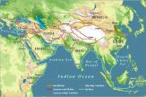 silk road maps and arab sea trading routes