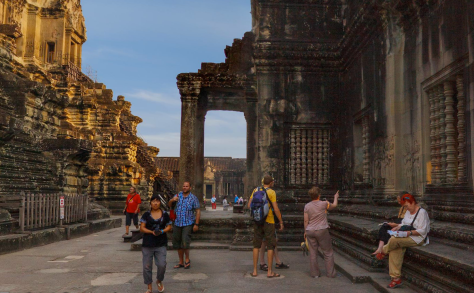 Templo de Angkor Wat Cambodia