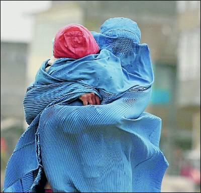 mujer musulmana con burka
