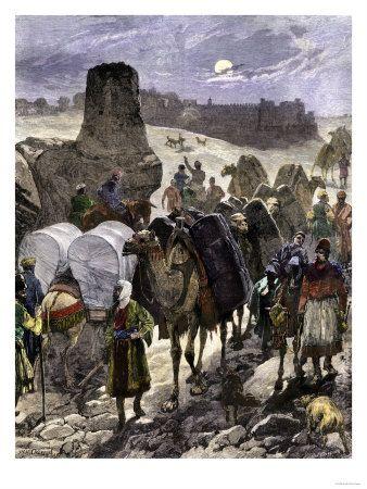 Caravana de la ruta de la seda